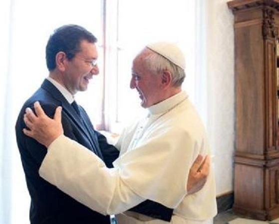 Il Papa incontra Marino e Zingaretti: non dimenticate i poveri