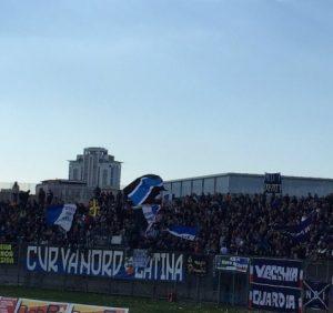 Curva_nord_Latina_Calcio