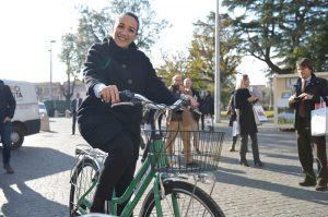 Eleonora Della Penna bike sharing