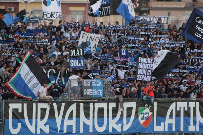 curva nord latina calcio