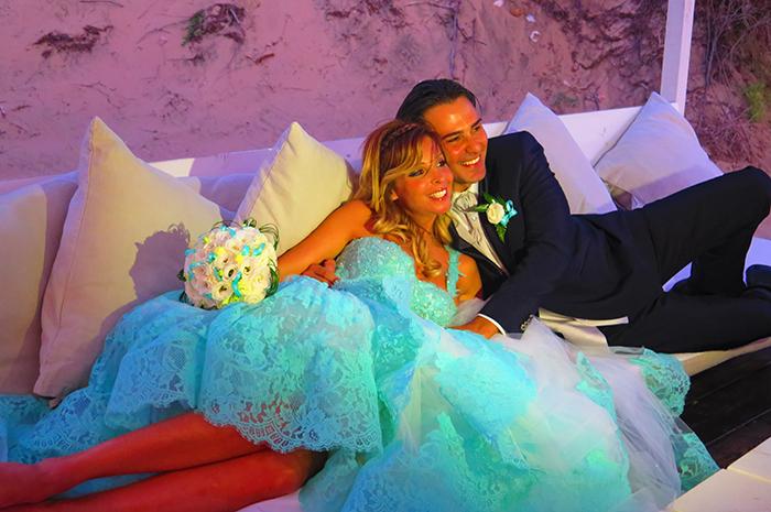 Matrimonio Spiaggia Sabaudia : Quattro matrimoni linda e marco vincono con il loro matrimonio