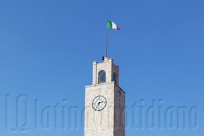 Tricolore Piazza del Popolo