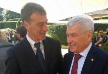 Gianni Acampora e Carlo Sangalli Confcommerio
