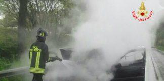 Incendio Golf incidente