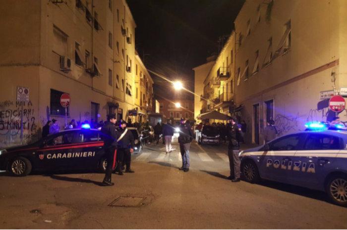 Latina, minaccia i ragazzi al pub e aggredisce i poliziotti: arrestato