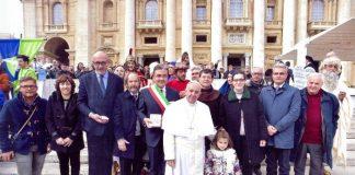 Passione di Sezze, Papa Francesco