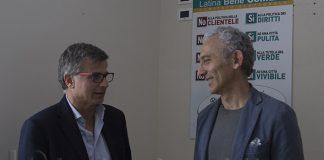 Francesco Miscioscia e Damiano Coletta