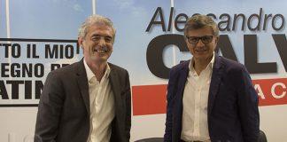 Alessandro Calvi e Francesco Miscioscia