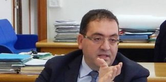 Il sindaco di Aprilia, Antonio Terra