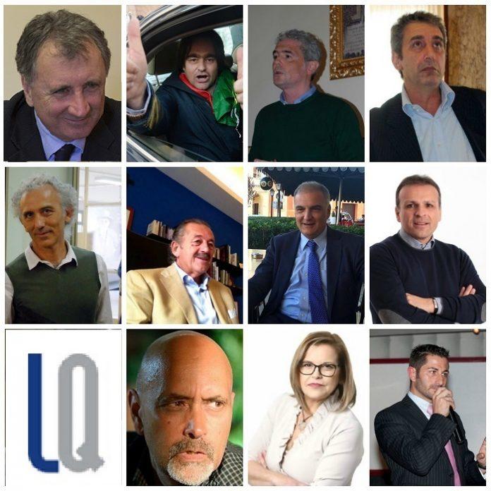 I candidati a sindaco per le comunali di Latina
