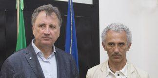 Nicola Calandrini e Damiano Coletta