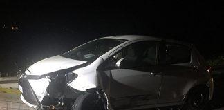 Incidente Pontina Yaris