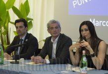 Marco Arcuri, Alessandro Calvi, Manuela Arcuri