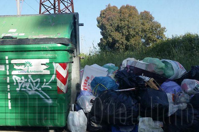 emergenza rifiuti Latina Ambiente