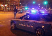 posto di blocco polizia controlli