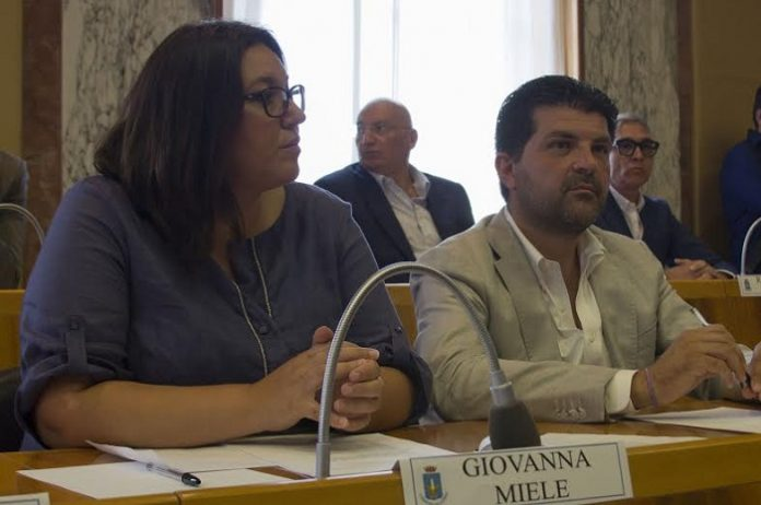 Giovanna Miele e Giorgio Ialongo
