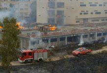 incendio cittadella giudiziaria