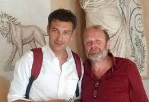 Enzo Siciliano e Gianfranco Pannone
