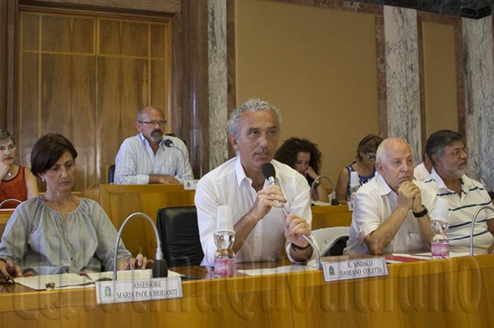 Damiano Coletta Consiglio Comunale