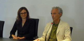 Rosa Iovinella e Damiano Coletta
