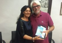 Ricky Tognazzi con Giuseppina Giovannoli