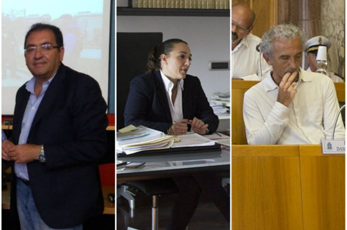Antonio Terra, Eleonora Della Penna, Damiano Coletta