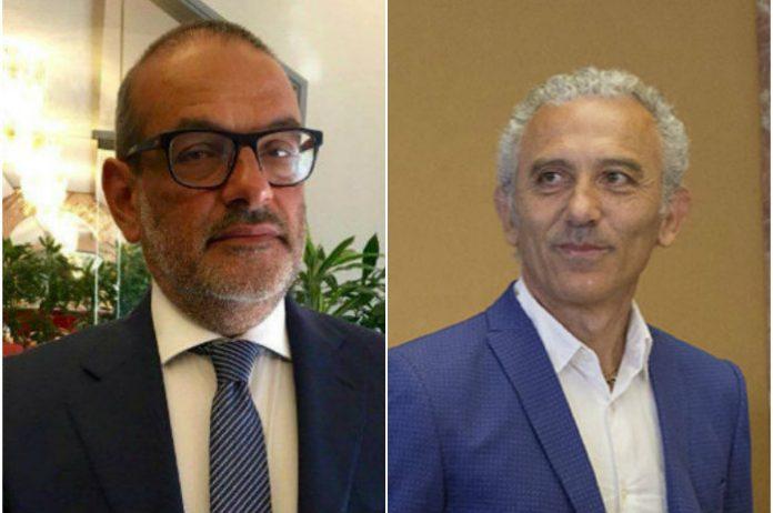 Mauro Zappia e Damiano Coletta