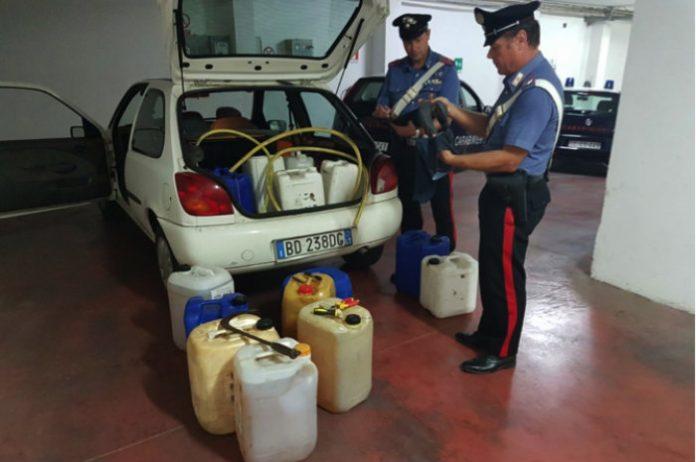 furto-gasolio- Cisterna