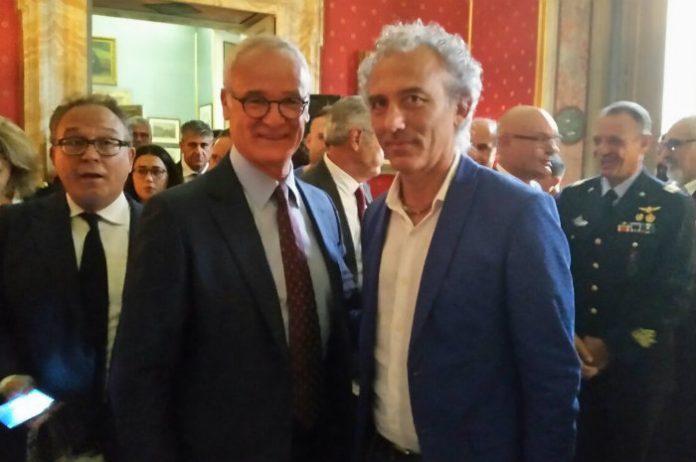 Claudio Ranieri e Damiano Coletta
