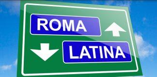autostrada Roma - Latina