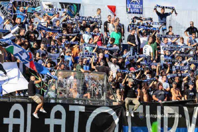 stadio francioni latina calcio