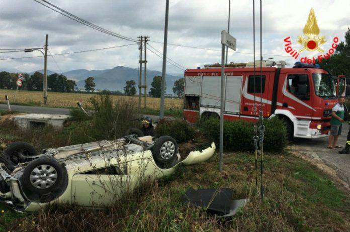 incidente-Migliara-42-Borgo-Faiti