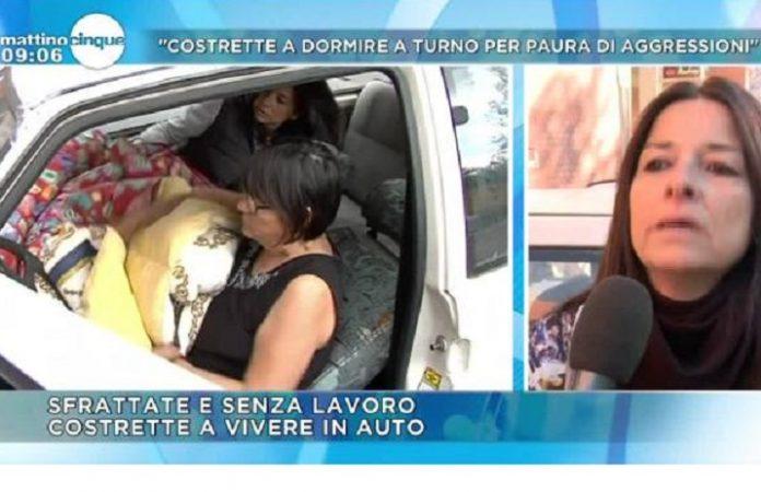 La storia di patrizia e carmela a mattino 5 le due donne for Due case di tronchi storia