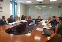 riunione -Prefettura