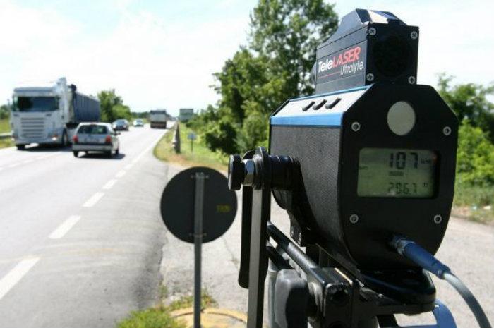 Settimana di controlli col telelaser anche sulla Pontina da parte della Polizia: il calendario
