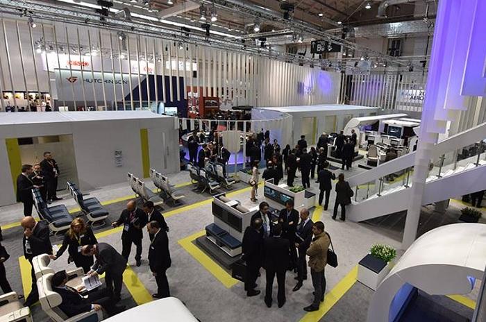 Aviointeriors All 39 Aircraft Interiors Expo Di Amburgo Presenta La Sua Nuova Poltrona Adagio