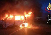 Gaeta-incendio-auto