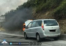 Pontina-auto-a-fuoco