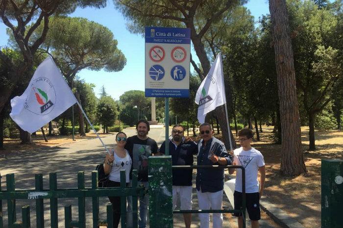 latina parco mussolini speeches - photo#42
