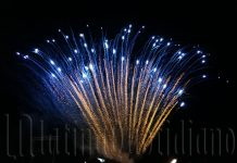 Fuochi d-artificio-Latina