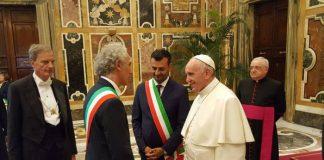 Il sindaco Coletta ricevuto da Papa Francesco