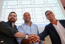 Marco Franchi, Gianrio Falivene, Vincenzo Di Pinto