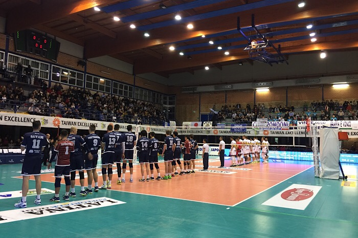 Taiwan excellence latina sconfitta in casa da modena per for Casa modena volley
