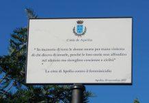 targa-violenzacontroledonne-aprilia