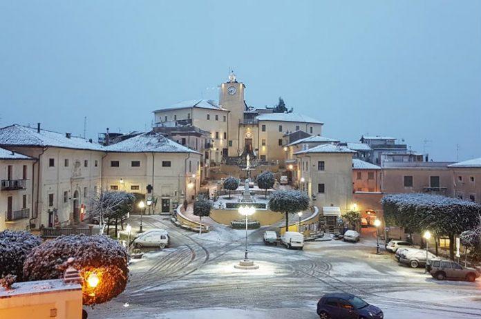 Neve a Roccagorga