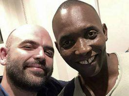 Roberto Saviano e Aboubakar Soumahoro