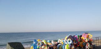 abusivismo commerciale sulle spiagge