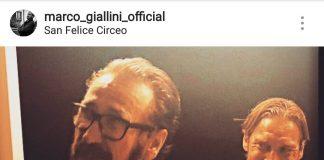 Marco Giallini e Francesco Totti a San Felice Circeo