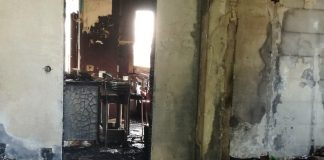 incendio alle case popolari di Borgo San Donato: