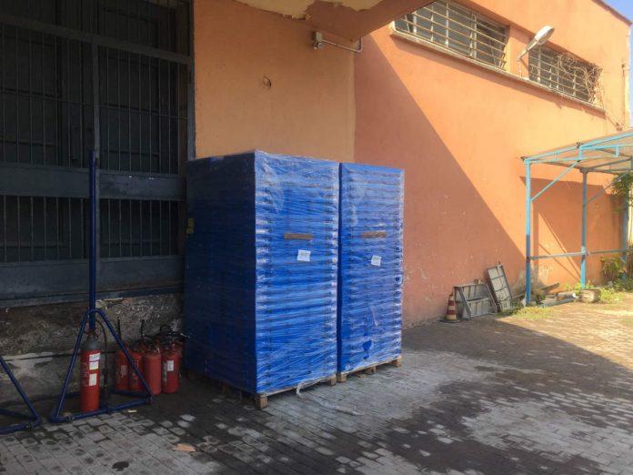 Installazione delle passerelle per disabili